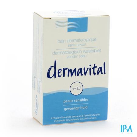 Dermavital Wasstuk Gevoelige Huid 100 g
