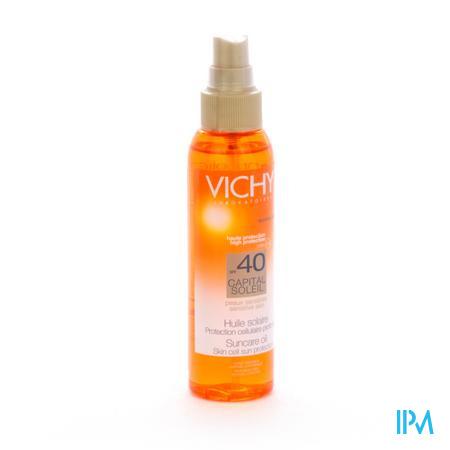 Afbeelding Vichy Capital Soleil Zonneolie met SPF 40 Spray 125 ml.