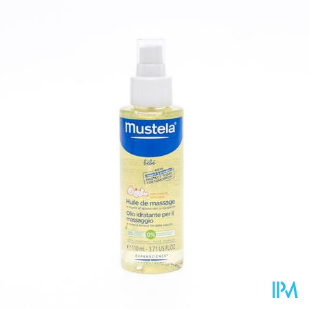 Mustela Baby Massage Olie Vapo 110 ml
