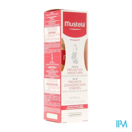 Mustela Mat Olie Preventie Zwang.striemen 105ml