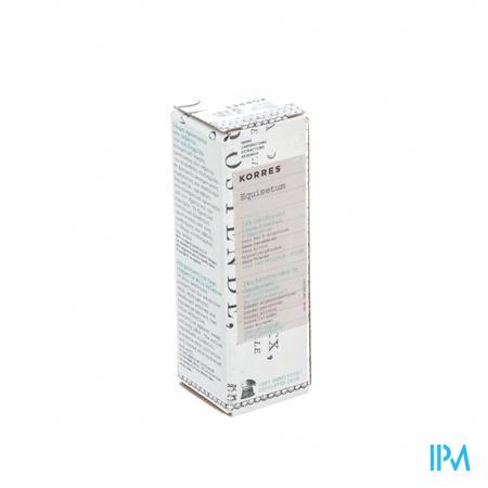 Korres Kb Deodorant Equisetum 30ml