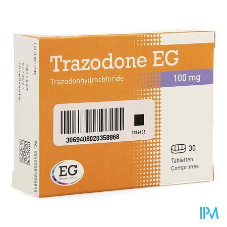 Trazodone Eg Tabl 30 X 100mg