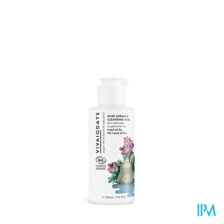 Vivaiodays Rose Geranium Reinigingswater 100ml