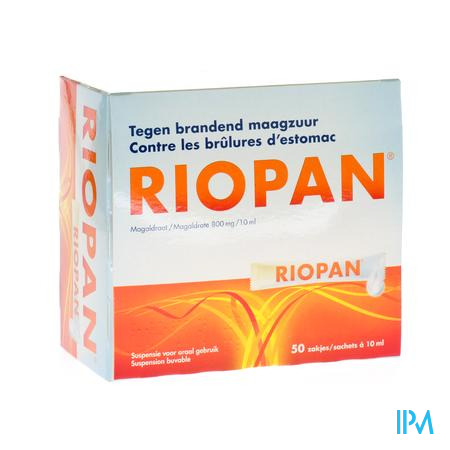Riopan Gel Sachets Zakjes 50x10ml