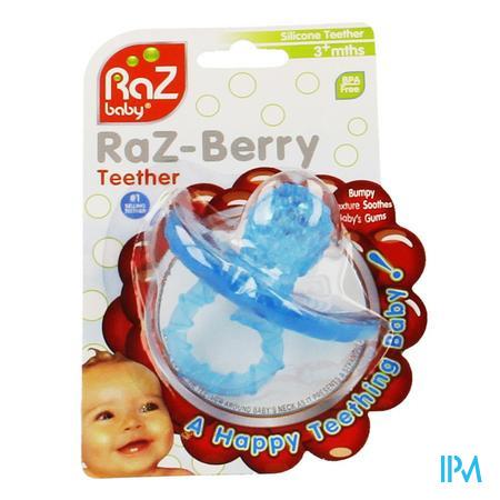 Raz Baby Anneau De Dentition Razberry Baby Bleu 1 pièce