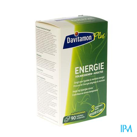 Davitamon Energy Volwassenen 90 tabletten