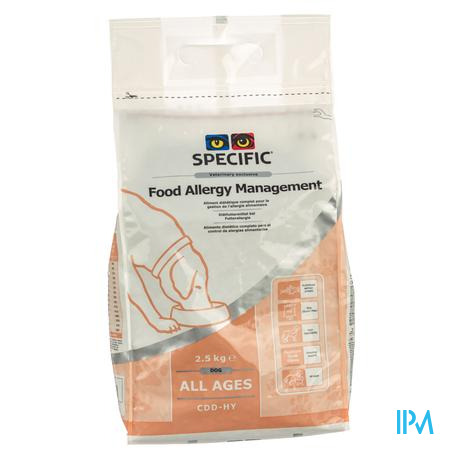 Specific CDD-HY Food Allergy 2.5 kg