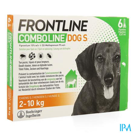 Frontline Combo Line Dog S 2-10kg 6x0,67ml