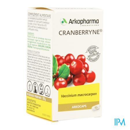 Arkocaps Cranberryne Plantaardig 45
