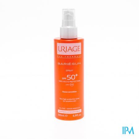 Afbeelding Uriage Bariésun Zonnespray met SPF 50+ voor Gelaat en Lichaam 200 ml.