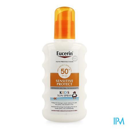 Afbeelding Eucerin Sensitive Protect Extra Waterbestendige Zonnespray met SPF 50+ voor Kinderen 200 ml.