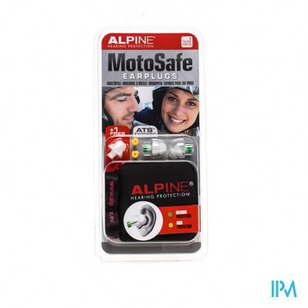 Alpine Motosafe Oordopjes 1 paar