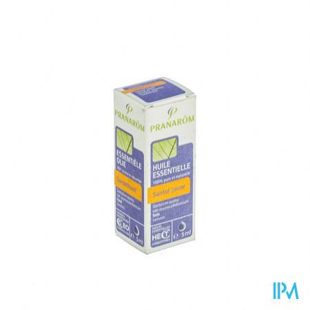 Pranarom Santal Jaune 5439 Huile Essentielle 5 ml