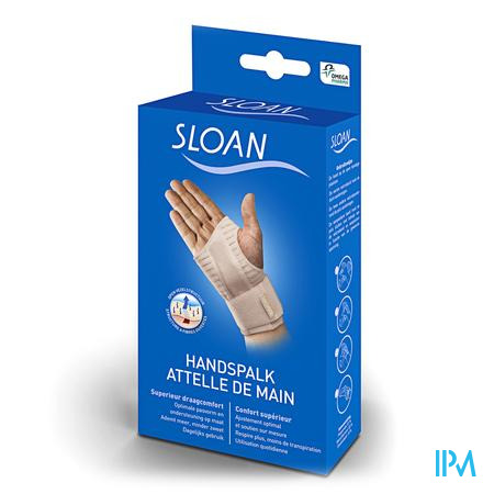 Sloan Handspalk Wit Rechts L 1 stuk