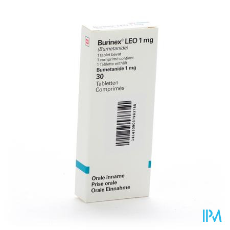 Burinex Comp 30 X 1mg