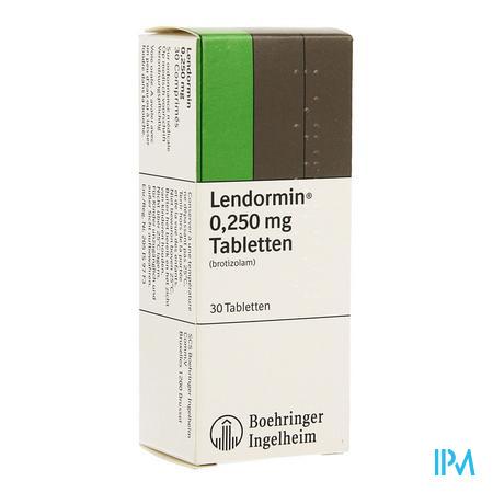 Lendormin Comp. 30 X 0,25mg