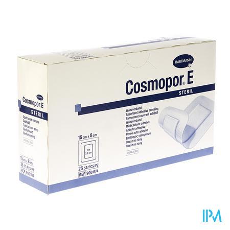 COSMOPOR E VERB STER ADH      15,0X 8CM 25 9008745