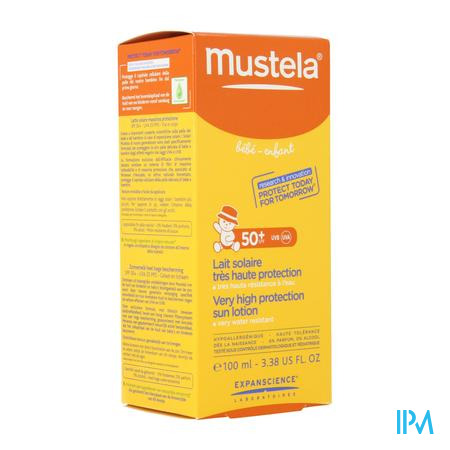 Mustela Baby Zonnemelk Spf 50+ 100 ml