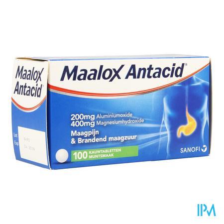 Maalox Antacid 200/400 Tabletten 100