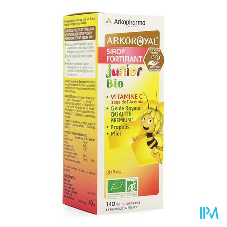 Arkoroyal Sirop Kid Fortifiant Ruche Royale 150 ml
