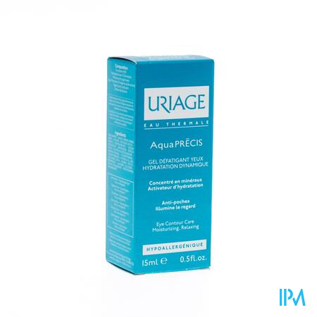 Uriage Aquaprecis Gel Yeux Fatigué 15 ml