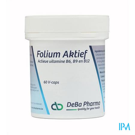 Folium Aktief V-caps 60 Deba