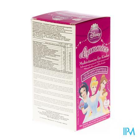 Disney Multivitaminen Kinder Princess Gum. 60