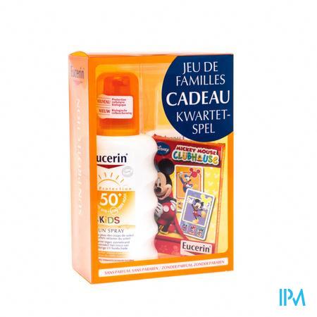 Eucerin Sun Kids SPF50 Spray + Kwartetspel GRATIS 200 ml