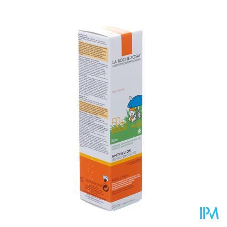 Afbeelding La Roche-Posay Anthelios Zonnemelk SPF 50+ voor Baby's 50 ml.