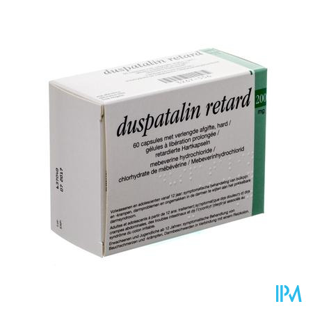 Duspatalin Retard 200mg Pi Pharma Caps Dur 60 Pip