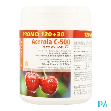 Fytostar Acerola Vit C 120 + 30 tabletten