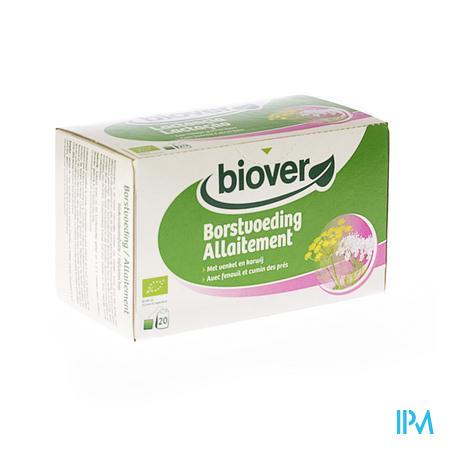 Biover Biokruideninfusie Borstvoeding 20 zakjes