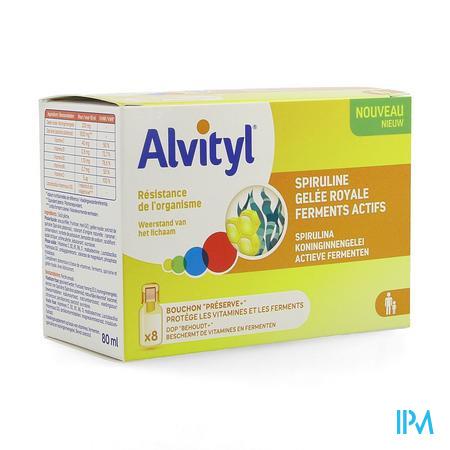Alvityl Resist Fiole 8x10ml
