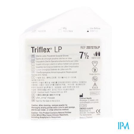 Handschoen Triflex Steriel Medium 7,5 2d7275lp 1 paar