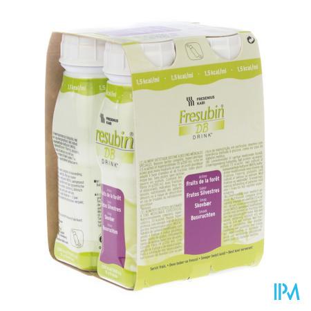 Fresubin Db Drink Fruit Foret Easybot.4x200 ml