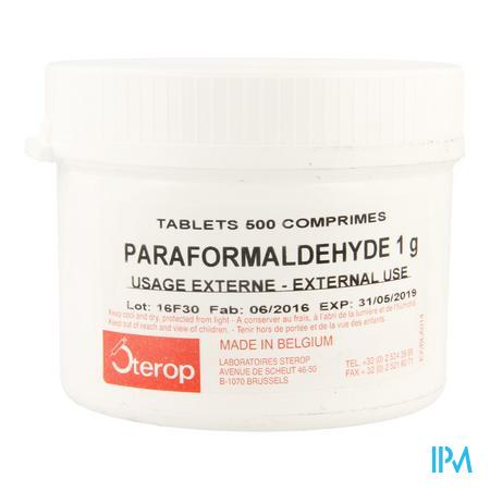 Sterop Trioxymethyleen 500 Tabl 1g