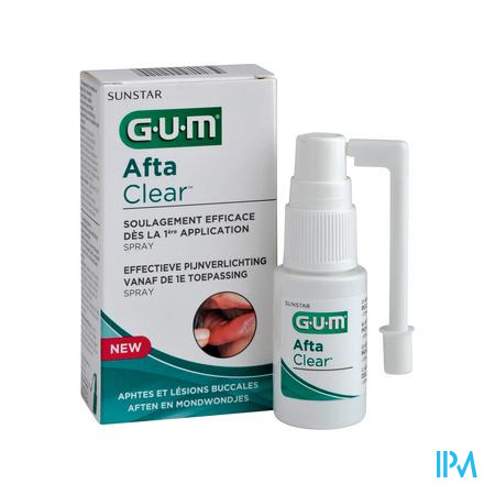 Gum Aftaclear Mondspray 15ml