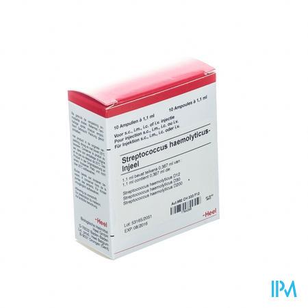 Streptococcus Haemolytic. Injeel Amp 10x1,1ml Heel