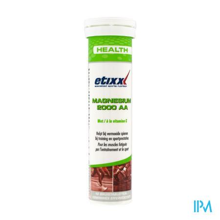 Etixx Magnesium 2000 AA 10 comprimés effervescents