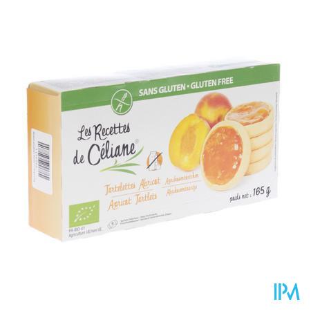 Celiane Tarte Aux Abricots Bio 165 g