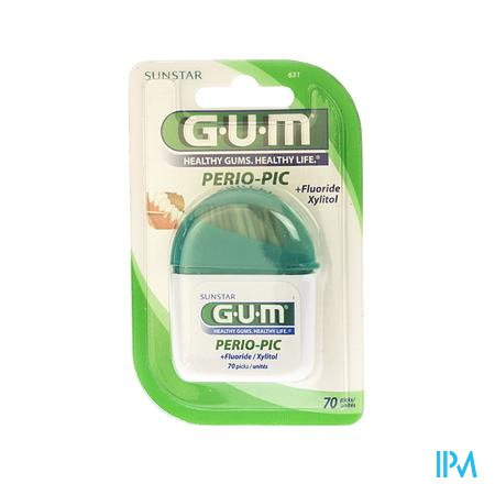 Farmawebshop - GUM PERIOPIC TANDENSTOKERS HOUT 60 631