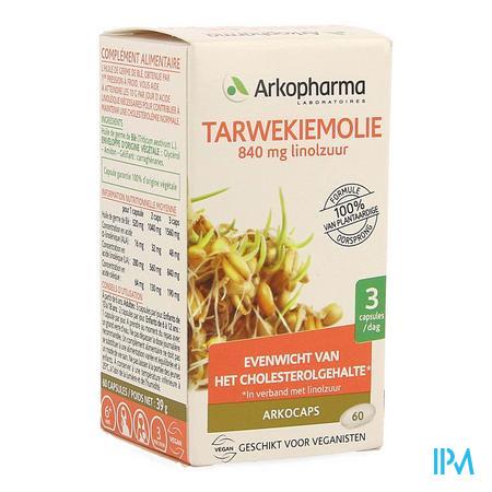 Arkocaps Tarwekiemolie Bio Caps 60