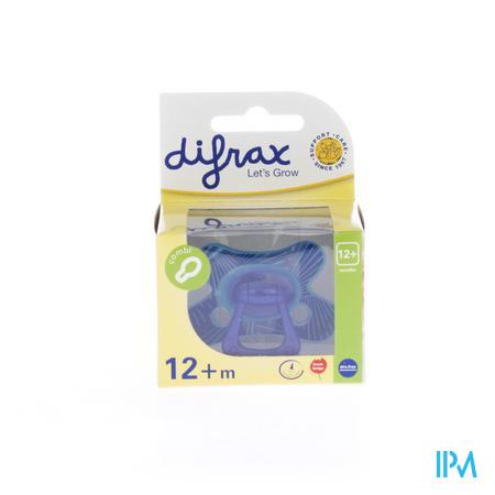 Difrax Sucette Combi Boy +12M 1 pièce