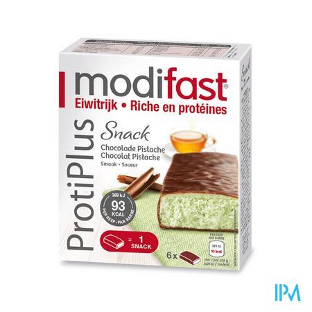 Farmawebshop - MODIFAST PROTIPLUS REEP CHOCOLADE-PISTACHE 162G