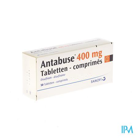 Antabuse Comp. 50 X 400mg