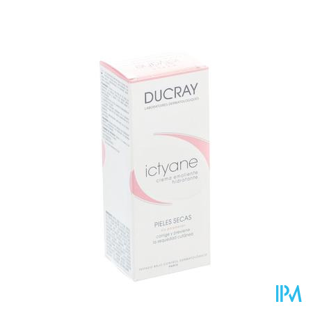 Ducray Ictyane Crème Peau Sèche 50 ml crème