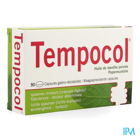 Tempocol Caps 90 X 182mg