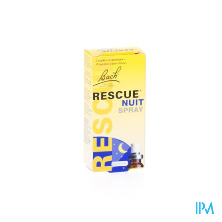 Bach Bloesem Rescue Spray Nuit 7 ml