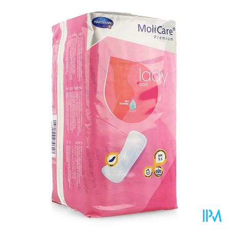 Molicare Premium Lady Pad 1,5 Drop 27x10cm 14
