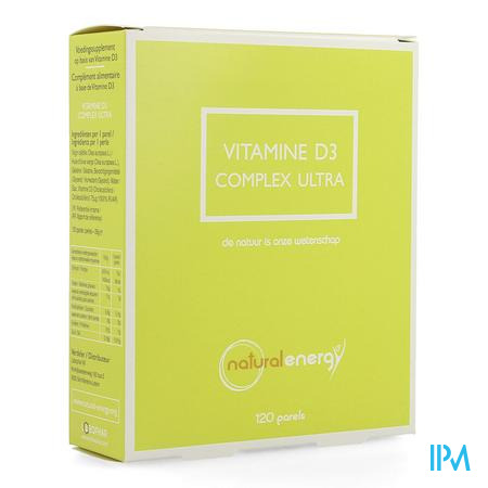 Vitamine D Complex Ultra Natural Energy3000ui